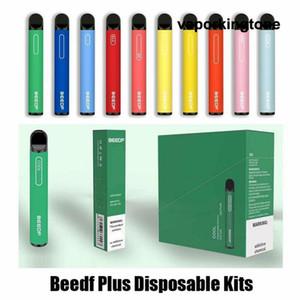 100% Authentic Authentic Beedf Plus Pod monouso 3ml Premilled 800 Puff 550mAh Vape Pen System System 14 Opzioni