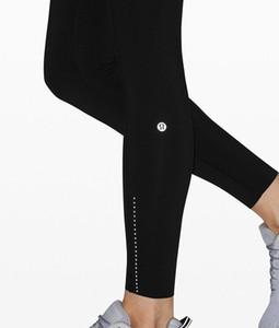 Ucuz Satış Tasarımcısı Siyah kadın Yüksek Aktif Lulu'Lemon's Lulu Lu Tayt Lu Yoga Limon Pantolon Bayanlar Tayt Büyük Boy