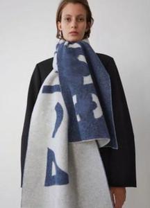 Moda-Stüdyo Asmak Tag şal tasarımcı ile şal şık, hig zarif kadın giyim lüks eşarp / akne mektubu uzun sıcak eşarplar