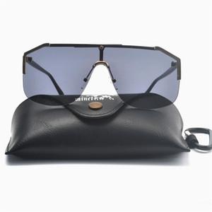 2020 Futuristic Style Rectangle Fashion Mens Sun glasses Brand Designer Masculine Glasses party Punk hip hop sunglasses UV400 NX