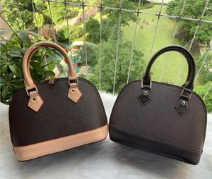 Klassische Alma Bb Alte Blume Braun Schachbrett Crossbody Bag Mode Umhängetasche Kupplung Handtasche Luxus