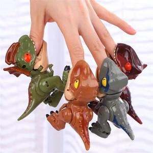 8286 Yuexing Deforme Dinozor Oyuncak Q Sürümü Tyrannosaurus Rex Çocuk Simülasyonu Dinozor Model Fabrika Doğrudan Sıcak Satış