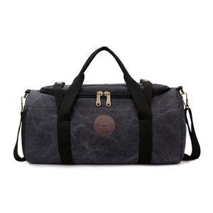 Waterproof Sport Bag Large Men Gym Bag Canvas Bag Sac De Women Yoga Fitness Bags Outdoor Shoulder Handbag Travel Luggage Bags Z1124