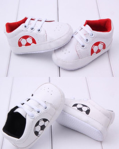 Baby shoes 0~18 month white blue red color new born Baby first walker football Shoes boy girl