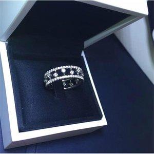 الشهيرة د ب العلامة التجارية الحلو الأنيق الكلاسيكية الماس dewdrop الدائري النساء مأدبة حزب مجوهرات الخطوبة اليومية