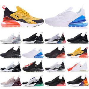 Max 270 Männer Schuhe Schwarz Triple White Kush Womens Herren Turnschuhe Mode Athletics Trainer Laufschuhe Größe 36-45