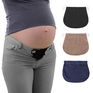 2021 Pregnant Belt Pregnancy Support Maternity Pregnancy Waistband Belt Elastic Waist Extender Pants
