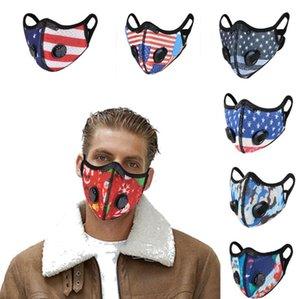 Bisiklet Yüz Maskesi Aktif Karbon Filtre Nefes Açık Spor Maskeleri Yetişkin Rüzgar Geçirmez Toz Geçirmez Kış Sıcak Maske 39 Stilleri HWC4256
