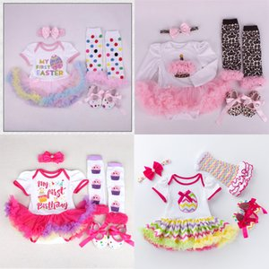 2021 Easter Baby Costumes Romper Dress Princess Birthday Cosplay Party Outfit Bebes Jumpsuit Newborn Baby Girls Clothes C0126