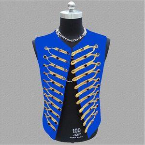 2021 New Arrival Dress Hot Vests For Men Slim Fit Mens Fashion DJ Vest Male Waistcoat Gilet Homme Casual Sleeveless Jacket S-3XL