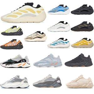 2021 adidas yeezy boost 700 v2 yezzy yeezys kanye west shoes Wave runner S Black White Blue Grey Sports Designer Atletics Zapatillas 36-46 C61A #