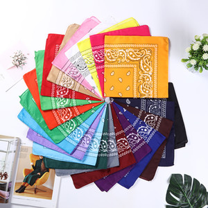 bandana magic outdoor sports square scarf polyester cashew flower riding face mask paisley hip hop headscarf Dropshipping Q2101