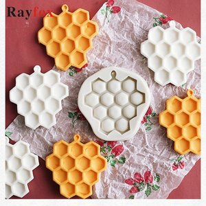 Baking Tools DIY Honeycomb Silicone Cakes Molds Fondant Cupcake Decorating Home Gadget Birthday Party baking Kitchen Accessories