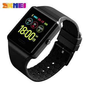 Montres Skmei Mens Sport Sport Digtal Watch multifonction Bluetooth Health Monitor Imperméable Montres Relogio Digital 1526