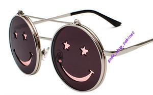 2020up Vidano Optical Round Metal Sunglasses Steampunk Men Women New Fashion Glasses Luxury Designer Retro Vintage Sunglasses UV400