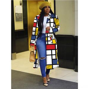 el0A Wrap Wool Scarf Cardigan Patchwork Cloak Poncho Cape Wrap Winter Warm Blanket Plaid Women Shawl outwear Coat
