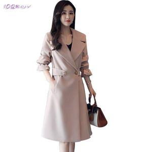 2020 primavera outums casacos casuais casuais casacos moda windbreaker feminino elegante trench feminino casaco mulheres roupas ioqrcjv t237