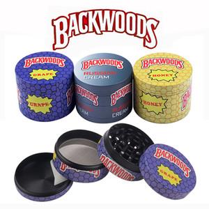 Backwoods Sharpstone Herb Moedor dos desenhos animados moedores de zinco lixo de metal triturador de tabaco para a erva seca Preço de fábrica