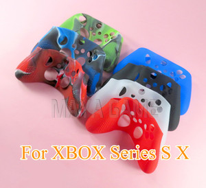 For XBox Series X S Controller Protective Silicone Skin Gel Studded Case