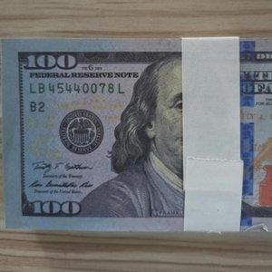 Neues Geschäft Vereinigtes Königreich Fake Geld für Prop-Geldpapier 100 Preis-Bank 02 Geschenke Rechnungen Geld Männer für Papier Note Banknoten Sammlung Fake Krhpc