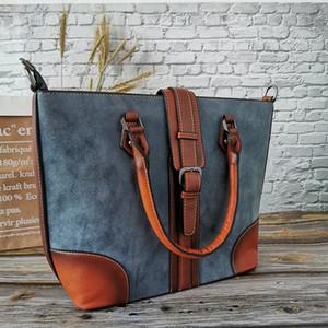 Imyok Vintage Bolsas couro macio bolsas femininas, Lady viagem Tote Shoulder Bag Grande Capacidade Designer Bandolera Mujer