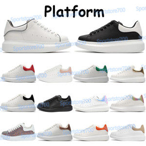 Hommes Mode Chaussures Platform Platformers Sneakers Blanc Bourgogne Noir Velours Noir Métallique En Argent Métallique En Argent Rouge Sequin Wolf Gris Chaussures de course de réflexion