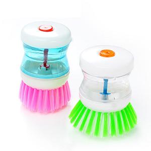 Envío gratis Cocina Cepillo de limpieza hidráulica Cepillo de herramientas de nylon para limpieza de cocina Pincel para lavavajillas de aceite antiadherente para limpieza FFF2832