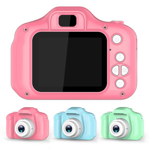 Portable Digital Video Camera 2 Inch Rechargeable Kids Mini Digital Camera for Child Birthday Gift Kids Game Study Toy