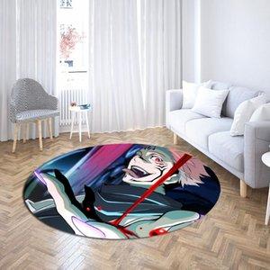 Tapis rond Jujutsu Kaisen Tapis ronds Japon Anime Zone Tapis Baby Play Tapis Tapis Tapis Custom Accueil Décor Dropshipping