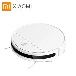 جديد xiaomi mijia مي تجتاح التطهير الروبوت فراغ نظافة G1 للمنزل اللاسلكي غسل 2200PA الإعصار شفط الذكية المخطط wifi
