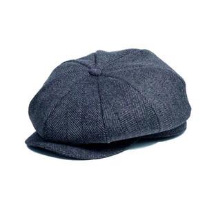 Herren- und Damen-NEWSBOY-Kappe-Duck-Maler-Maser-Hut-achteckiger Hut verdickt und warm