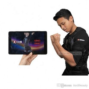 Profesyonel Stimülatörü Kas EMS Eğitim EMS Equipos De Fisioterapia Xbody Xbody App Ped veya Telefon Kontrol Android Sistemi