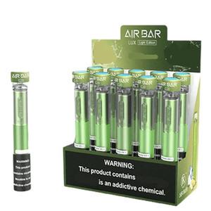 Air Bar Lux Cigarettes electrónicos Dispositivo vape desechable 2.7ml POD Kit de pluma 500mAh Batería 1000puffs Vapores pre-llenos E Cigs