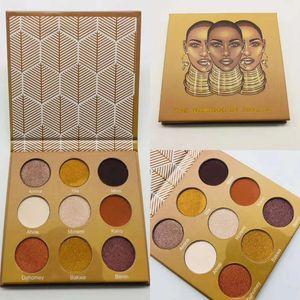 Auf Lager!! Dropshipping-Marke-Make-up-Lidschatten-Palette Glitter Shimmer Matte Pearl Lidschatten Pallete Kosmetik Lidschatten-Palette-Make-up-Tool