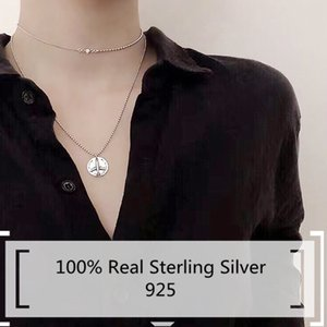 100% Sterling Silver 925 Jewelry Cool Punk Aircraft Pendants Vintage Airplane Sweater Chains New Fashion Male Necklace For Men Z1126
