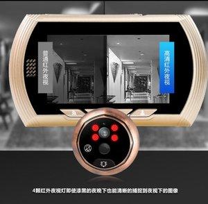 4.3 polegadas 2MP 150 Degree WIFI campainha porta Detecção de Movimento Video Phone Peephole