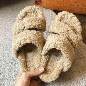 Desinger Donne Show Style Classic Pantofole piatte Pantofole Moda Scarpe da donna calda Scarpe da interno Slides Slides Hotel Pantofole di alta qualità con scatola