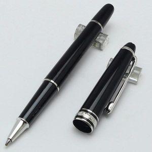 Caneta de esferográfica 163 caneta de caneta de fonte / caneta esferográfica finamente lasered na caneta de escritórios de escritório de Au Ródio-revestido.