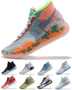 Esportes Pérola Basquete de Gelo Durant Espuma Mens Elite Tia Tapetes Finalizações Azul Multi-Color Sneakers
