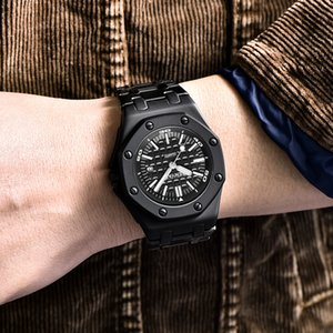 BENYAR Quartz Men's Watches Casual Fashion 30M Waterproof Sport Watch Men Stainless Steel Wristwatch Mens reloj hombre 2019 New