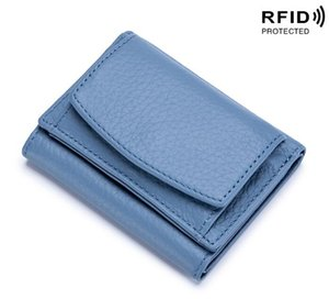 2020 purse Antithef Men Wallets Oil Wax Genuine Leather Women Short Wallet Zippers and Hasp Man's Purse With Coin Pockets Card Holders