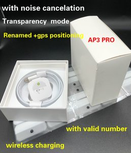 1536U رقاقة الهواء GEN 3 AP3 جيل 3 إلغاء الضوضاء الشفافية إعادة تسمية سماعات لاسلكية شحن سماعات بلوتوث الجيل الثاني