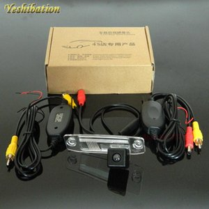Yeshibation Wireless RCA AUX Video Transmitter Receiver Kit For Avante   Elantra XD 2000~2006 Car DVD Monitor Rear View