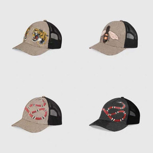 Design Tiger Animal Hat Ricamato Snake Brand Brand Brand Uomo e da donna Berretto da baseball regolabile Golf Sports2888 HH Cap