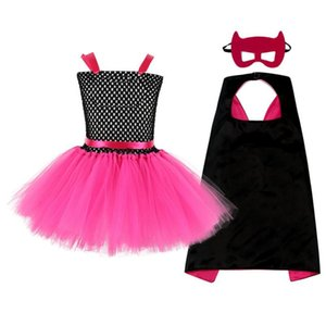 children's Cartoon Fancy Dress Up Halloween cosplay Costume Handma Girls Tulle Tutu Dress Kids Birthday Party Pageant Dress2-10Y F1130