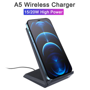 5A Fold Wireless Charger Stand Holder Fast Charging 20W for iPhone 11 XR X XS 8 Samsung S10 S9 USB C Qucik Charge Pad