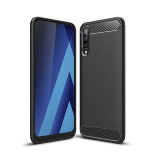 Étui en fibres de carbone pour Samsung Galaxy A01 A10 A10S A10S A1 A2 Core A20E JEAN 2 A20S A21 A21S A30 A20 Large 4 A31 A40 A41 A50SS A30S A51