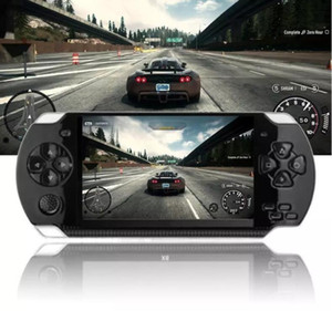 Handheld Game Console 4.3 inch 8G Easy Operation screen MP3 MP4 MP5 player support for psp game,camera,video,e-book