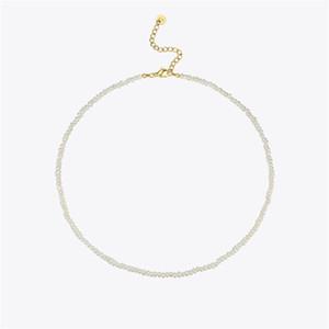 Enfashion Natural Irregular Pearl Coukers Colliers pour femmes Gold Color Chain Collier Collier Dame Fashion Bijoux Femme P203111 201218