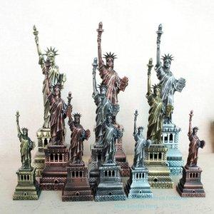 SMEI Demir Metal Özgürlük Modeli Heykeli, 15-30 cm, Yaratıcı Mobilya, El Yapımı Süs, Noel Çocuk Doğum Günü Hediyesi için, Toplama, 2-2